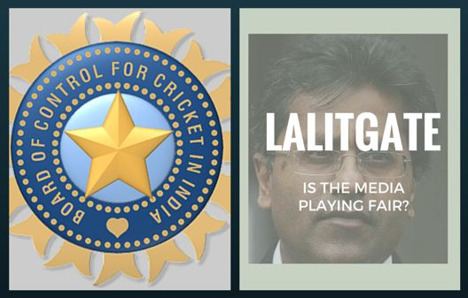 Role of Media in LalitGate