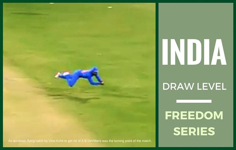 India pull off a stunner, beat Proteas in the 2nd ODI