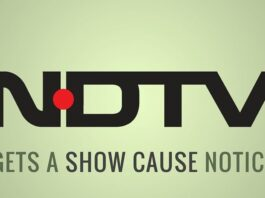 Enforcement Directorate issues a Show Cause notice to NDTV