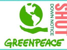 Greenpeace shown the door over fraud