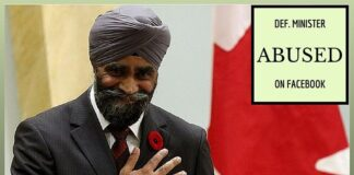 Canada's Sikh Defence Minister racially abused by soldier