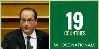 Hollande says people from 19 countries killed in the #ParisAttacks