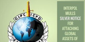 Interpol mulling Silver Notice for attaching global criminals' assets