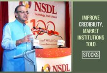 Need to improve credibility of market institutions: Jaitley