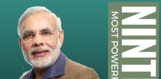 Modi is World's Ninth most powerful person