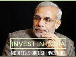Invest in India, Modi tells British investors