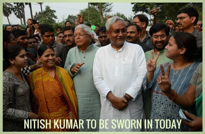 Over 2 lakh people, 8 CMs to attend Nitish's swearing-in