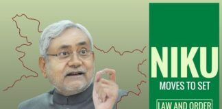 Nitish tries to shut the door on Jungle Raj