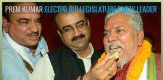 Prem Kumar to be Bihar BJP legislature party leader