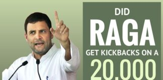 Dr. Swamy writes to the PM on how Rahul Gandhi may have got kickbacks