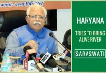 Haryana government all set to bring alive mythological Saraswati river