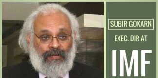 Former Dy Governor of RBI Subir Gokarn appointed Exec. Dir. at IMF