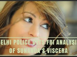 Delhi Police gets FBI analysis of Sunanda's viscera