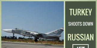 Turkey downs Russian jet near Syria border, pilot captured - Putin warns of consequences