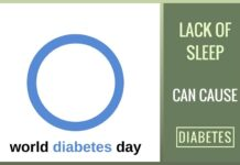 Experts say that lack of sleep can cause diabetes - Nov 14 is World Diabetes Day