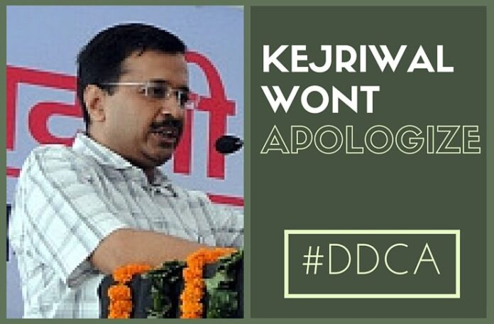 Kejriwal won't apologise; BJP says petty drama is CM's political strategy