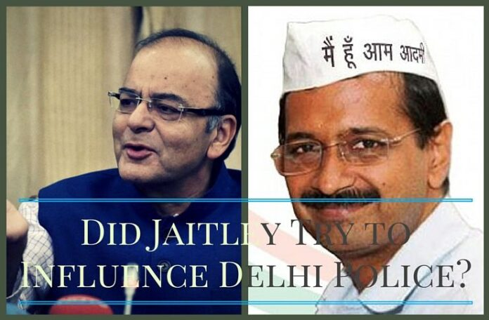 AAP says Jaitley tried to influence police probe in DDCA