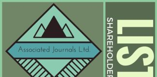 Full list of share holders in Associated Journals Limited as of 2011