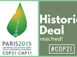 Historic climate pact adopted at #COP21