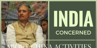 India conveys concern to China over its activities in Pak occupied Kashmir