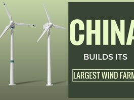 China begins construction of its largest wind farm