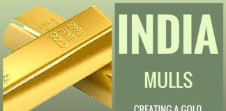 Government mulls over creating a gold exchange for transparent trading