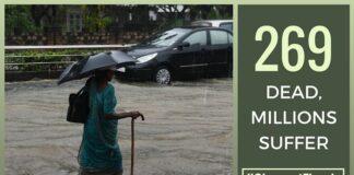 269 dead, millions suffer, Chennai under water