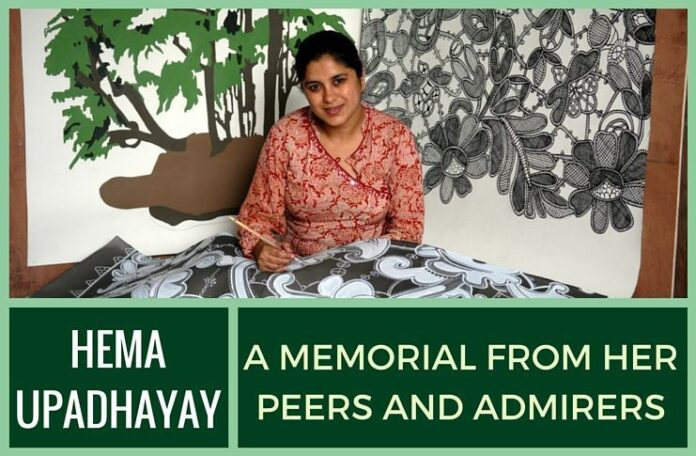 Recently Deceased Hema Upadhyay was excited about her upcoming US exhibition