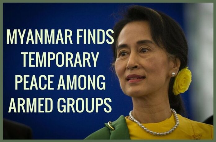 Myanmar opposition, groups build trust in peace process
