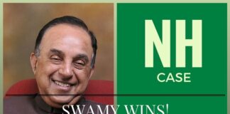 Dr. Swamy wins the #NHCase in Delhi HC