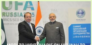 Modi to halt at Lahore, meet Sharif