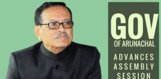 Arunachal governor advances assembly session; CM, speaker abstain