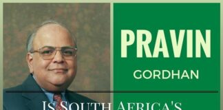 Appointment of Pravin Gordhan as new FM boosts South African markets