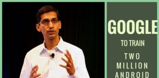 Google to train two million Android developers: Pichai