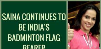 Saina continues to be Indian badminton's flag bearer