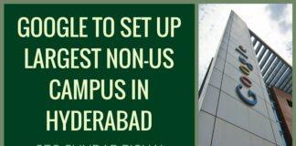 Google plans campus at Hyderabad, more net access: Pichai