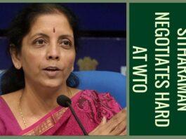 India negotiated hard for developing world at WTO: Sitharaman