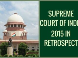 Hands off, SC tells government, reaffirming its primacy in judicial appointments (2015 in Retrospect)
