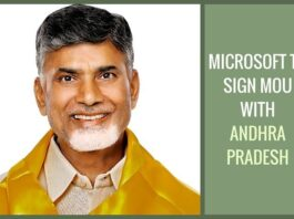 Andhra to sign MoU with Microsoft