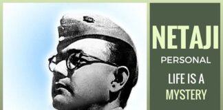 Netaji's personal life remains a big mystery
