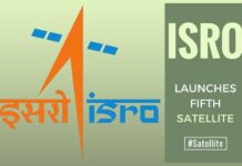 In text book style, India launches fifth navigation satellite