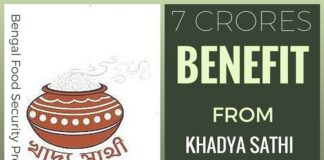 More than 7 crore people to benefit from Bengal Food Security Program
