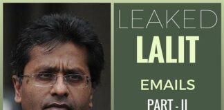 Gavaskar a money-minded man, says Lalit Modi in leaked emails (Part II)