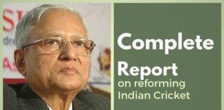 The complete Lodha Panel report on Reforms in Indian Cricket