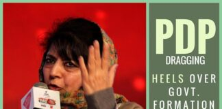 Mehbooba Mufti unlikely to stake claim to power in J and K as friction grows with BJP