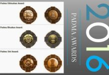 List of Padma awards for 2016