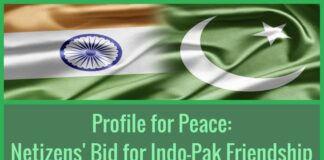 Netizens from both sides of the border have taken to social networking sites advocating peace.