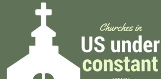 Christian churches in US under constant attack, but ignored by major media, government