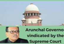 Arunachal Governor can heave a sigh of relief as Supreme Court agrees with him.