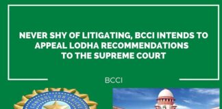 BCCI intends to appeal Lodha recommendations to the Supreme Court